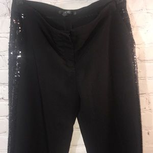 Sequins lined trouser by BCBG